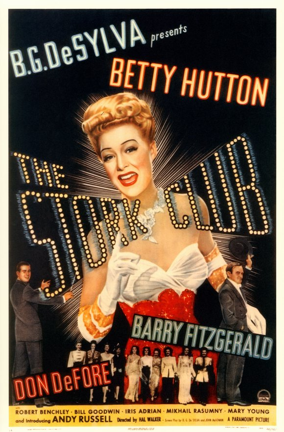 the stork club movie posters from movie poster shop. Black Bedroom Furniture Sets. Home Design Ideas