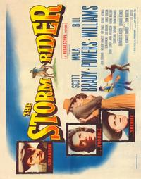 The Storm Rider - 22 x 28 Movie Poster - Half Sheet Style A