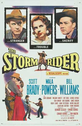The Storm Rider - 11 x 17 Movie Poster - Style A