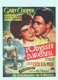 Story of Dr. Wassell, The - 11 x 17 Movie Poster - Belgian Style A