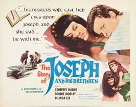 Story of Joseph and His Brethren - 22 x 28 Movie Poster - Style A