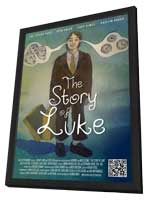 The Story of Luke - 11 x 17 Movie Poster - Style B - in Deluxe Wood Frame