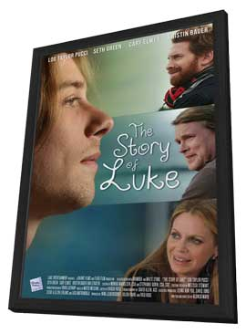 The Story of Luke - 11 x 17 Movie Poster - Style A - in Deluxe Wood Frame