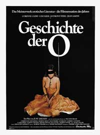 The Story of O - 27 x 40 Movie Poster - German Style A
