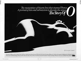 The Story of O - 43 x 62 Movie Poster - UK Style A