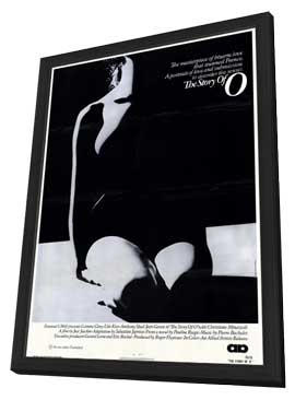 The Story of O - 27 x 40 Movie Poster - Style A - in Deluxe Wood Frame