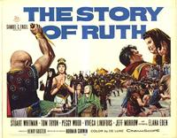 The Story of Ruth - 22 x 28 Movie Poster - Half Sheet Style A
