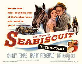 The Story of Seabiscuit - 22 x 28 Movie Poster - Style A