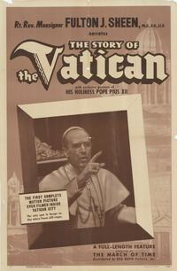 The Story of the Vatican - 11 x 17 Movie Poster - Style A