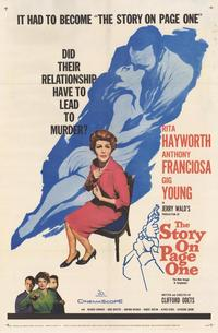 The Story on Page One - 27 x 40 Movie Poster - Style A