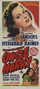 The Strange Affair of Uncle Harry - 13 x 30 Movie Poster - Australian Style A