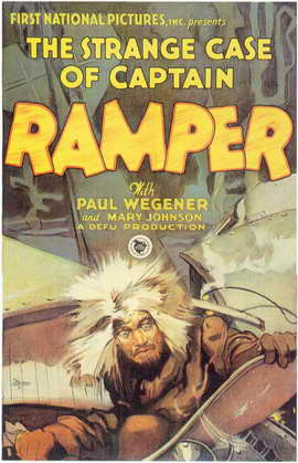 The Strange Case of Captain Ramper - 11 x 17 Movie Poster - Style A
