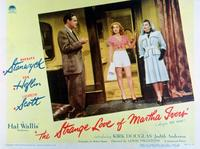 The Strange Love of Martha Ivers - 11 x 14 Movie Poster - Style A