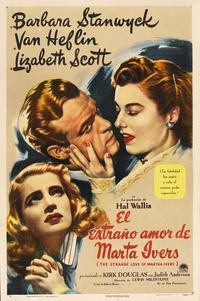 The Strange Love of Martha Ivers - 11 x 17 Movie Poster - Spanish Style A