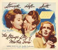 The Strange Love of Martha Ivers - 22 x 28 Movie Poster - Half Sheet Style A