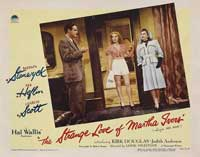 The Strange Love of Martha Ivers - 11 x 14 Movie Poster - Style E