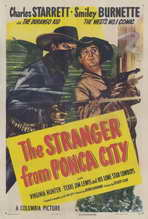 The Stranger from Ponca City - 27 x 40 Movie Poster - Style A