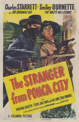 The Stranger from Ponca City - 11 x 17 Movie Poster - Style A