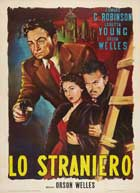 The Stranger - 11 x 17 Movie Poster - Italian Style A
