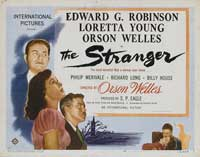 The Stranger - 22 x 28 Movie Poster - Half Sheet Style A