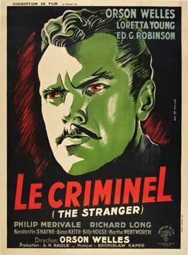The Stranger - 27 x 40 Movie Poster - French Style B
