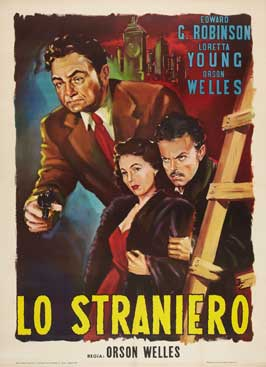The Stranger - 27 x 40 Movie Poster - Italian Style A
