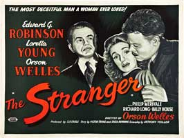 The Stranger - 30 x 40 Movie Poster UK - Style A