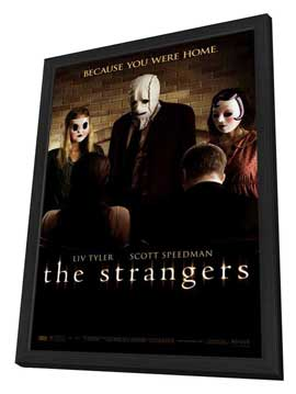 The Strangers - 11 x 17 Movie Poster - Style C - in Deluxe Wood Frame