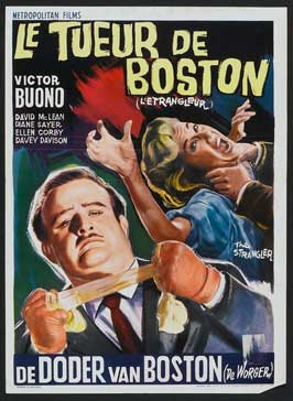The Strangler - 11 x 17 Movie Poster - Belgian Style A
