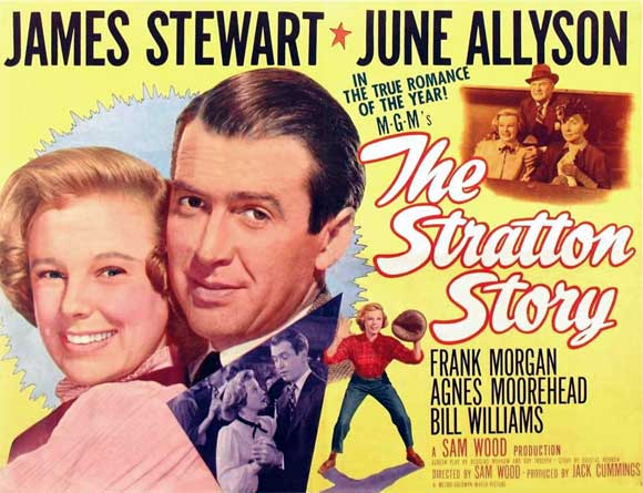 The Stratton Story Movie Posters 1949