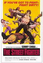The Street Fighter - 27 x 40 Movie Poster - Style A