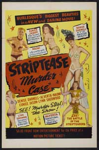 The Strip Tease Murder Case - 43 x 62 Movie Poster - Bus Shelter Style A