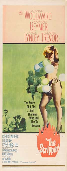 The Stripper - 14 x 36 Movie Poster - Insert Style A