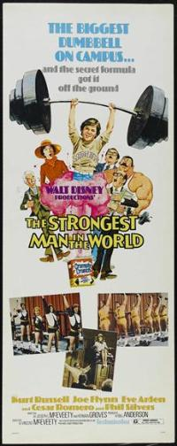 The Strongest Man in the World - 14 x 36 Movie Poster - Insert Style A
