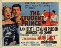 The Student Prince - 22 x 28 Movie Poster - Half Sheet Style A