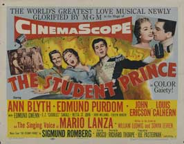 The Student Prince - 22 x 28 Movie Poster - Half Sheet Style C
