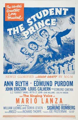 The Student Prince - 11 x 17 Movie Poster - Style A
