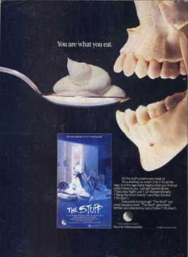 The Stuff - 11 x 17 Movie Poster - Style C