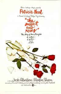 The Subject Was Roses - 11 x 17 Movie Poster - Style A