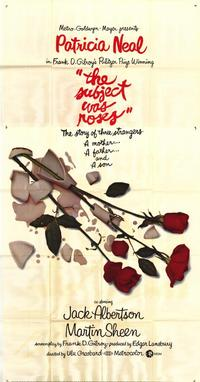 The Subject Was Roses - 43 x 62 Movie Poster - Bus Shelter Style A