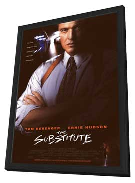 The Substitute - 11 x 17 Movie Poster - Style A - in Deluxe Wood Frame