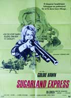 The Sugarland Express - 11 x 17 Movie Poster - Danish Style A