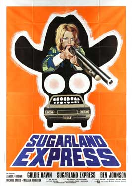 The Sugarland Express - 43 x 62 Movie Poster - Italian Style A