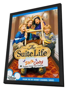 The Suite Life of Zack and Cody - 27 x 40 TV Poster - Style A - in Deluxe Wood Frame
