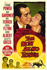 The Sun Also Rises - 11 x 17 Movie Poster - Style B
