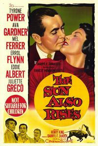 The Sun Also Rises - 27 x 40 Movie Poster - Style B