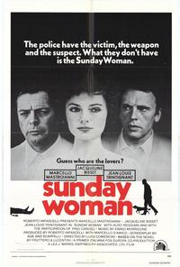 The Sunday Woman - 27 x 40 Movie Poster - Style A