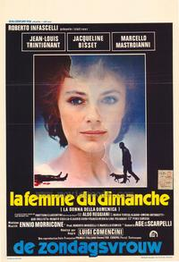 The Sunday Woman - 27 x 40 Movie Poster - Belgian Style A