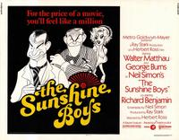 The Sunshine Boys - 11 x 14 Movie Poster - Style A