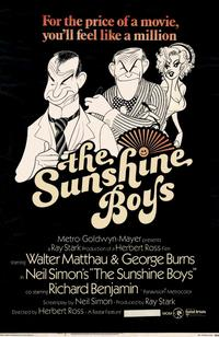 The Sunshine Boys - 11 x 17 Movie Poster - Style A